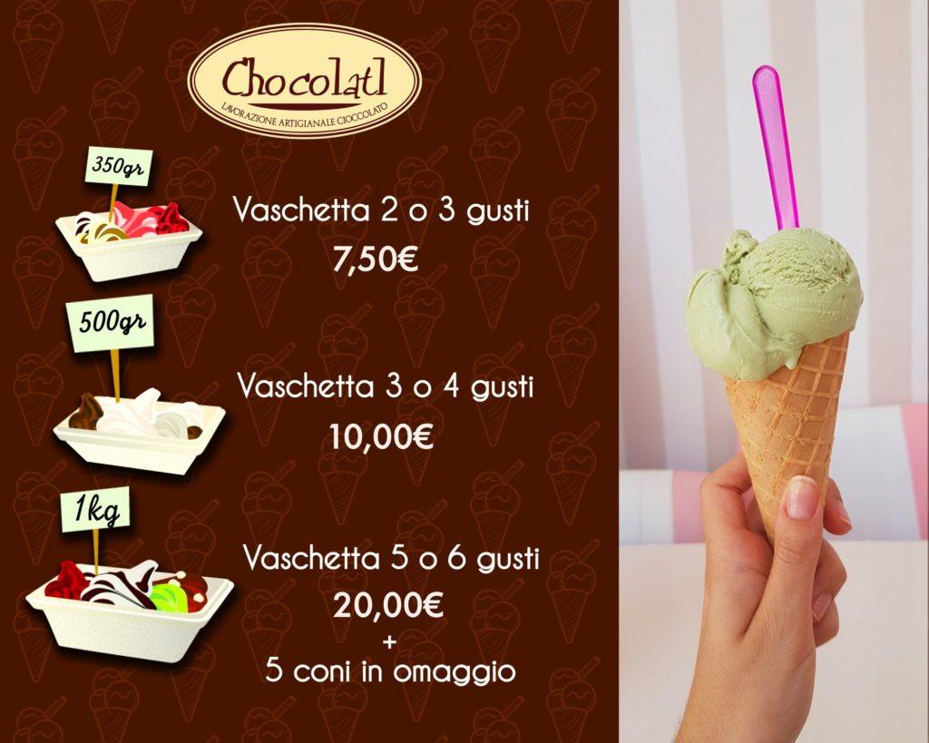 Il gelato artigianale Chocolatl!